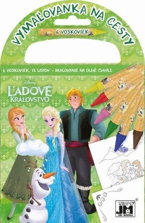 Disney: Vymaľovanka na cesty/ Ľadové kráľovstvo 2