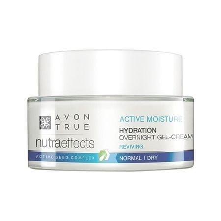 Avon (Hydration Over Night Gel- ) nawilżający na noc Cream (Hydration Over Night Gel- ) 50 ml