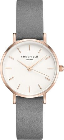 Rosefield The Small Edit Elephant Grey & Rose Gold