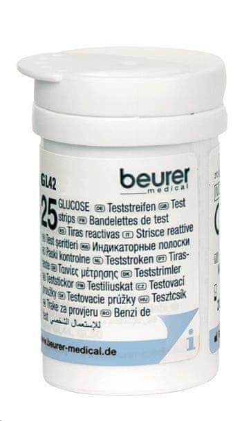 Beurer GL 42 testovací proužky ke glukometru 2 x 25 ks