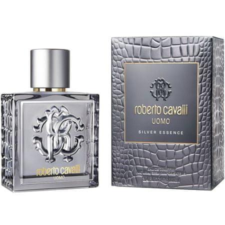 Roberto Cavalli Roberto Cavalli Uomo Silver Essence - woda toaletowa 60 ml