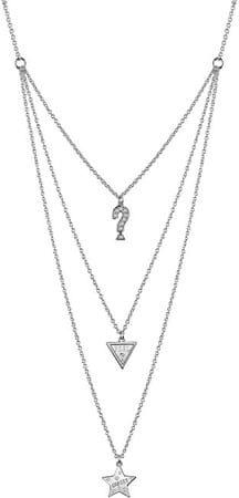 Guess Stílusos nyaklánc medálokkal UBN83065