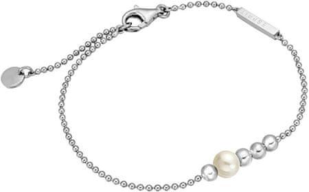 Esprit Srebrna bransoletka z syntetycznym proszek perły ESBR00201118 srebro 925/1000