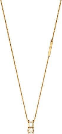 Esprit Pozlátený náhrdelník so zirkónom Lillian ESNL00101242 striebro 925/1000