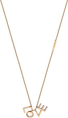 Esprit Bronzový náhrdelník Love Amory ESNL00231342 striebro 925/1000