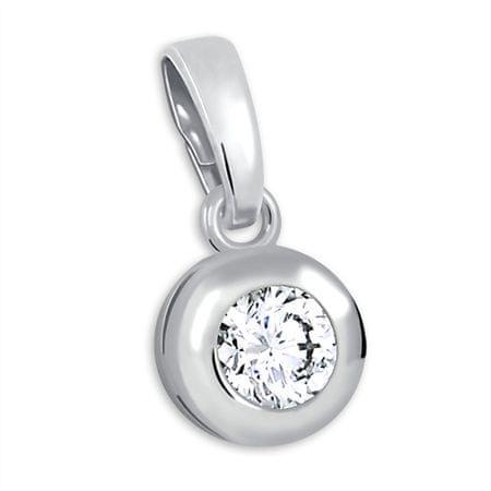 Brilio Silver Srebro wisiorek z kamieniem 446 001 00321 04 - 0,47 g srebro 925/1000