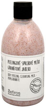 Sefiros Złuszczający prysznic balsam z granatów (Ciało obierania Mleczko) 500 ml