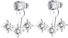 Brosway Náušnice s krystaly Affinity G9AF24 stříbro 925/1000