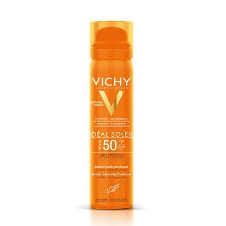 Vichy Odświeżający krem do opalania SPF 50 Idéal Soleil 75 ml