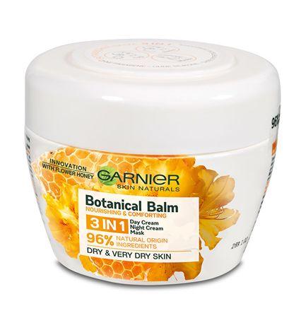 Garnier Krem do Pleť z ekstraktem z miodu i wosk pszczeli 3w1 Skin Natura l s (Botanical Balm) 150 ml