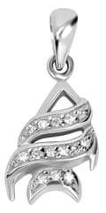 Brilio Silver Ezüst hal medál 446 154 00075 04 - 1,30 g ezüst 925/1000