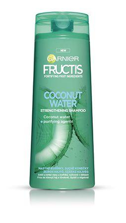 Garnier Posilující šampon na mastné kořínky vlasů Coconut Water (Strengthening Shampoo) (Objem 250 ml)