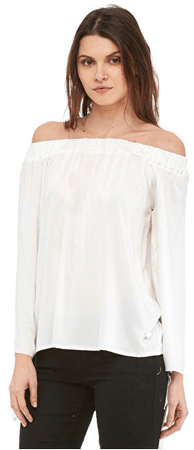 Fornarina Dámska blúzka Hatty-White Blusa (Veľkosť S)