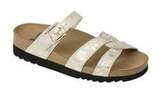 Scholl Zdravotná obuv CAMBERRA - platinum