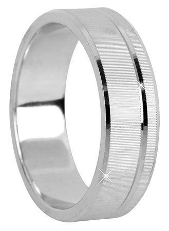 Brilio Silver Stribrny Snubni Prsten Pro Muze A Zeny 422 001 09073