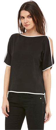 Fornarina Dámske tričko Gilda-Nero T-Shirt (Veľkosť L)