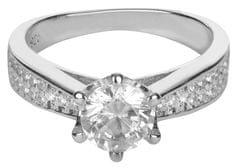 Brilio Silver Stříbrný zásnubní prsten 426 158 00081 - 4,05 g stříbro 925/1000