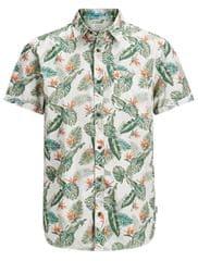 Jack&Jones Jorpaka Shirt SS Silver Birch férfi ing