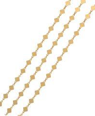 Brilio Silver Aranyozott nyaklánc 45 cm 473 080 00027 05 - 2,37 g ezüst 925/1000