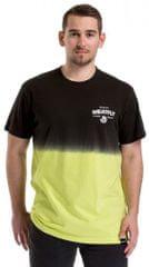 MEATFLY Férfi póló Spill 2 T-shirt A-Safety Yellow, Black