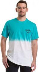 MEATFLY Koszulka męska Spill 2 T-shirt B- White, Sky