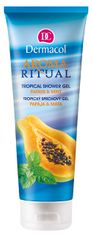 Dermacol Tusfürdő Papaya & Mint Aroma Ritual (Tropical Shower Gel) 250 ml