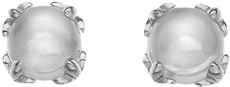 Hot Diamonds Strieborné náušnice Hot Diamonds Anais mesačný kameň AE006 striebro 925/1000