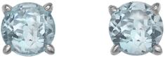 Hot Diamonds Stříbrné náušnice Hot Diamonds Anais modrý Topaz AE012 stříbro 925/1000