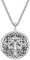 Hot Diamonds Medál Hot Diamonds Large Circle Filigree Locket DP665 ezüst 925/1000