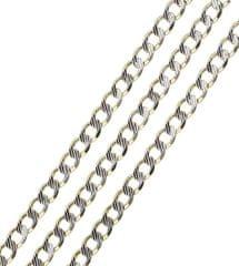 Brilio Náhrdelník z bieleho a žltého zlata 50 cm 271 115 00212 - 8,60 g žlté zlato 585/1000