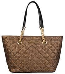 Calvin Klein Dámská kabelka Quilted Tote Bag - Antique Bronze