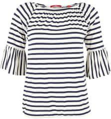 s.Oliver Dámske tričko 04.899.32.4819.58G8 Eclipse Blue Stripes