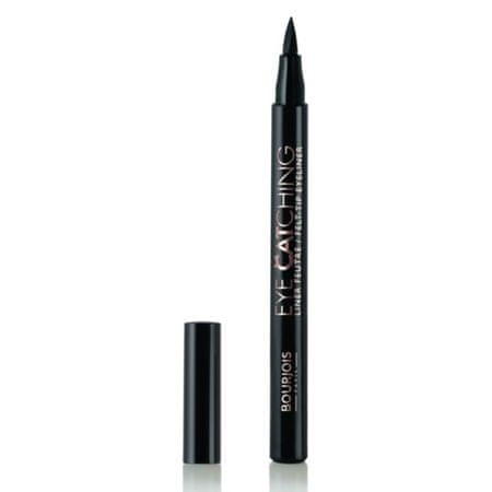 Bourjois Tekutá oční linka Eye Catching (Eyeliner) 1,6 g (Odstín Black)