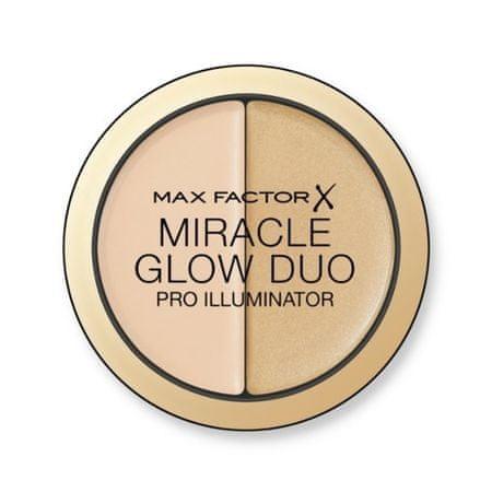 Max Factor Miracle Glow Duo krém (Pro Illuminator) 11 g (árnyalat 010 Light)