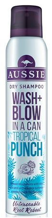 Aussie Wash + Blow Tropical Punch (Dry Shampoo) 180 ml
