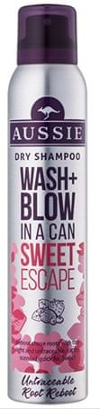 Aussie Suchý šampon Wash+Blow Sweet Escape (Dry Shampoo) 180 ml