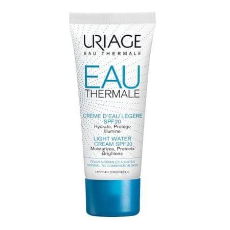 Uriage Light Hidratáló krém SPF 20 Eau Thermale ( Light Water Cream) 40 ml
