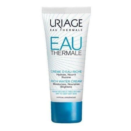 Uriage Tápláló és hidratáló krém száraz és nagyon száraz bőrre Eau Thermale (Rich Water Cream) 40 ml