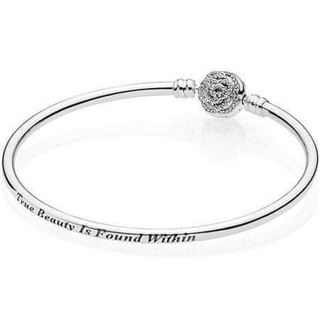 Pandora Disney szépség és szörnyeteg ezüst karkötő 590748CZ (hossz 19 cm) ezüst 925/1000