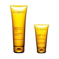 Clarins Sun Kit napvédő ajándék készlet