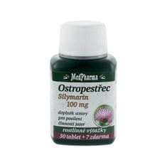 MedPharma Ostropestřec silymarin 100 mg 30 tbl. + 7 tbl. ZDARMA