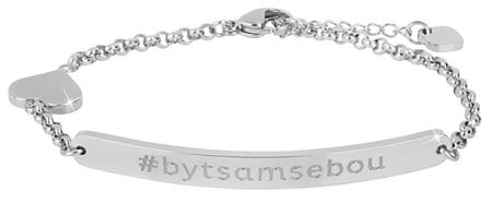 Troli Ocelový náramek #bytsamsebou (kratší)