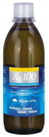 Pharma Activ Koloidní stříbro Ag 100 (20ppm) 500 ml