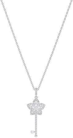 Swarovski Romantyczny naszyjnik z kluczem LADY 5365276