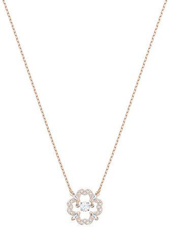 Swarovski Štýlový náhrdelník s kytičkou SPARKLING DANCE 5408437