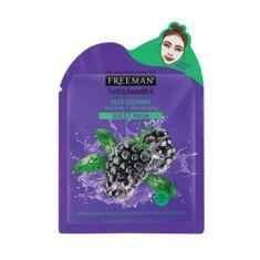 Freeman Hloubkově čisticí látková maska Tea Tree a ostružina (Deep Clearing Mask) 25 ml