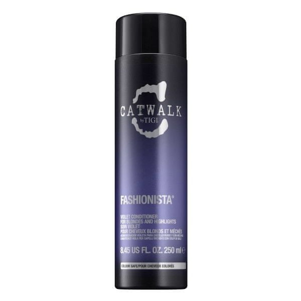Tigi Kondicionér pro blond a melírované vlasy Catwalk Fashionista (Violet Conditioner) (Objem 750 ml)