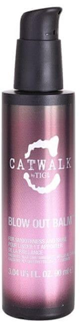 Tigi Uhlazující balzám pro nepoddajné a krepatějící se vlasy Catwalk (Blow Out Balm) 90 ml