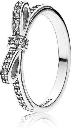 Pandora Csillogó gyűrű, basszusgitárral 190906CZ (áramkör 56 mm) ezüst 925/1000