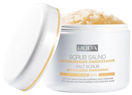 Pupa Revitalizační, energizující peeling s obsahem soli Home Spa (Revitalizing Energizing Salt Scrub) 350